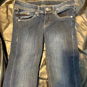 H&M Super Skinny Super Low Waist 26/32 Jeans